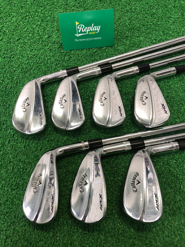 Callaway 2018 Apex MB Iron Set / 4-PW / N.S Pro Modus 3 120 Stiff Flex - Replay Golf