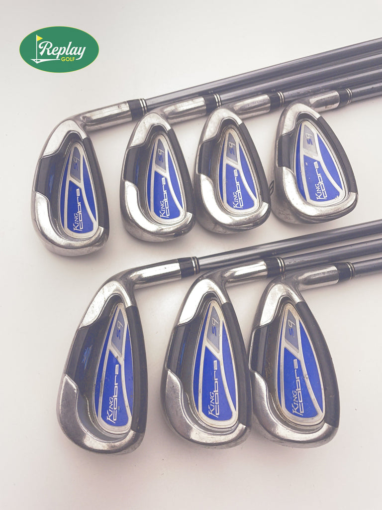 Cobra S9 Ladies Iron Set / 5 - SW / Graphite Ladies Flex