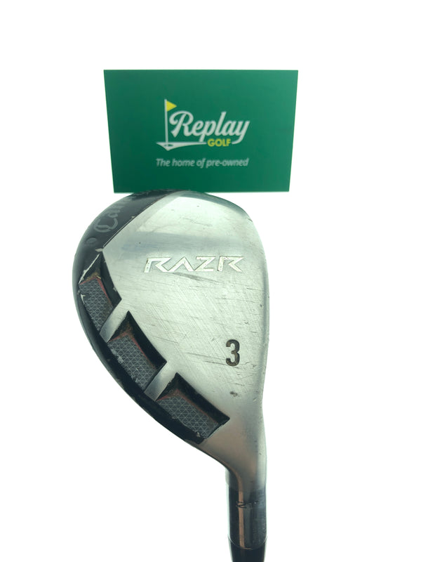 Callaway Razr X 3 Hybrid / 19 Degrees / Graphite Regular Flex