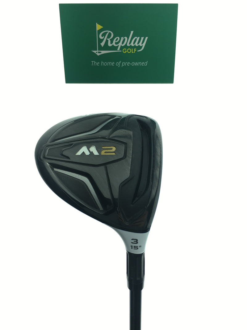 TaylorMade 2016 M2 3 Fairway Wood / 15 Degrees / REAX 65  Regular Flex