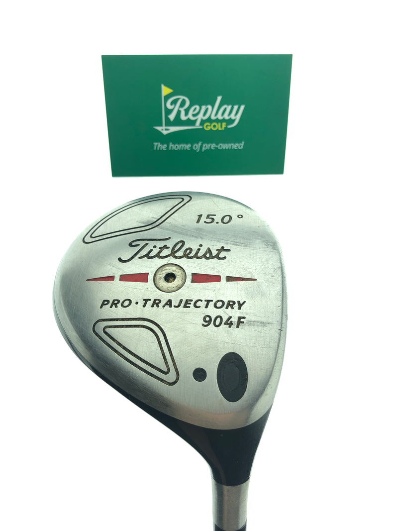 Titleist 904 F 3 Fairway Wood / 15 Degrees / Graphite Design YS-6+ Stiff Flex - Replay Golf