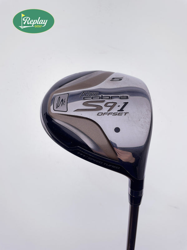 Cobra S9-1 Senior 5 Fairway Wood / 18 Degrees / Graphite Design for Cobra A Flex - Replay Golf
