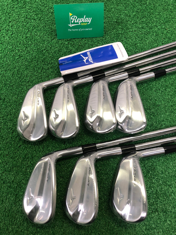 NEW Mizuno MP-20 HMB Iron Set / 4 - PW / N.S Pro Modus 3 Tour 120 Stiff Flex - Replay Golf