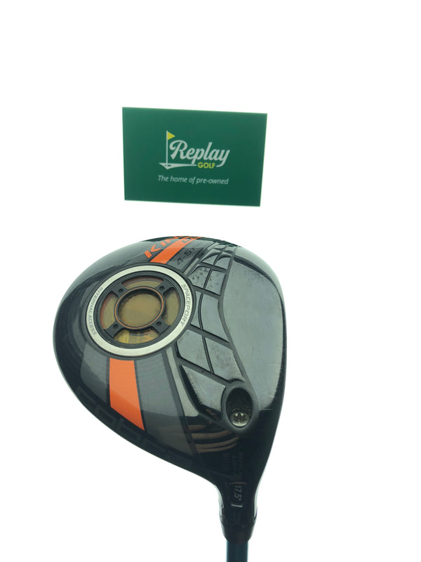 Cobra King LTD 4-5 Wood / 16-19 Degrees / Tour AD GP-4 R1 Lite Flex - Replay Golf