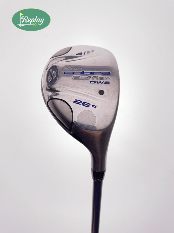 Cobra Baffler DWS 2008 4 Hybrid / 26 Degrees / Cobra Aldila VS Proto HL Ladies - Replay Golf