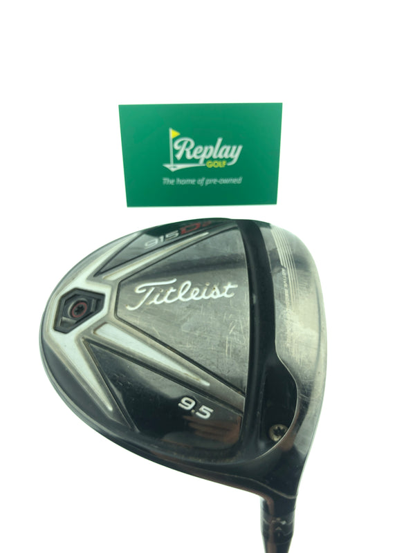 Titleist 915 D2 Driver / 9.5 Degrees / Aldila Rogue 60 X-Flex - Replay Golf