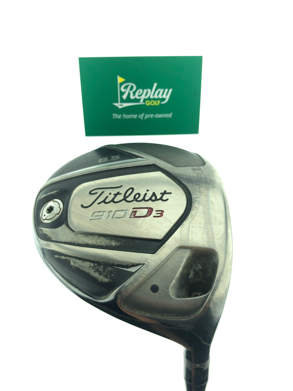 Titleist 910 D3 Driver / 8.5 Degrees / Diamana Kai'li Stiff Flex - Replay Golf