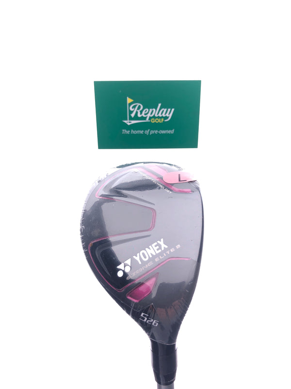 NEW Yonex Ladies Ezone Elite 2 5 Hybrid / 26 Degrees / Yonex L50 Ladies Flex - Replay Golf
