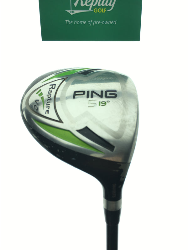 Ping Rapture V2 5 Fairway Wood / 19 Degrees / Ping TFC 939 F Regular Flex - Replay Golf