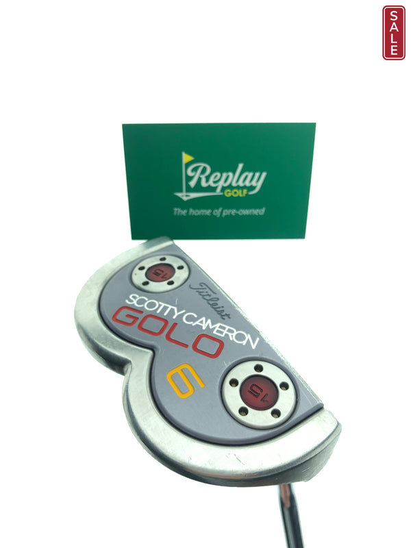 Scotty Cameron GOLO 6 Putter / 35 Inch - Replay Golf