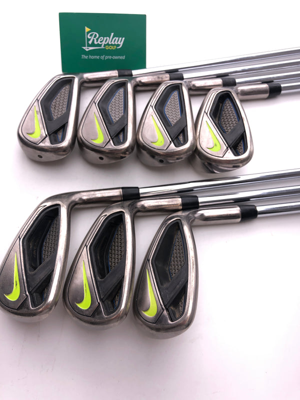 Nike Vapor Fly Iron Set / 5-SW / True Temper ZT 85 Regular Flex - Replay Golf