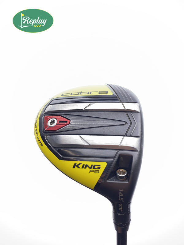 Cobra KING F9 Speedback 3 Fairway Wood / 14.5 Degrees / Regular Flex