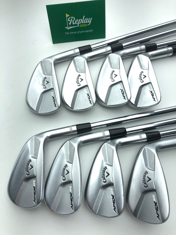 Callaway 2014 APEX MB Iron Set / 3-PW / Dynamic Gold S300 Stiff Flex - Replay Golf