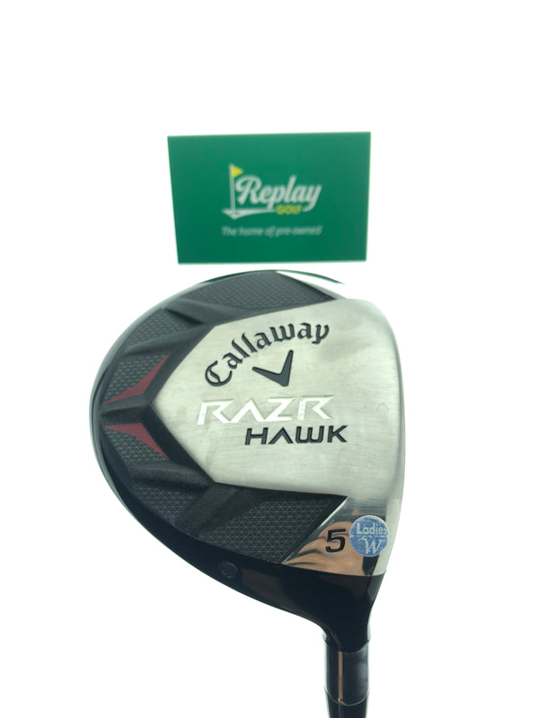 Callaway Razrhawk 5 Fairway Wood / 18 Degrees / Graphite Ladies Flex - Replay Golf
