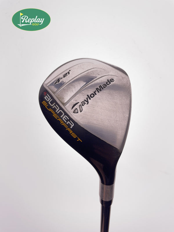 TaylorMade Burner Superfast 4 Hybrid / 21 Degrees / Superfast REAX 60 Regular - Replay Golf