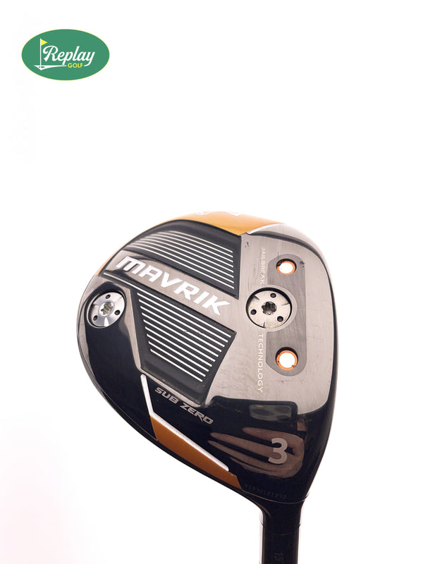 Callaway Mavrik Subzero 3 Fairway Wood / 15 Degree / Aldila Rogue 70 S Stiff Flex