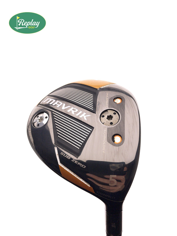 Callaway Mavrik Subzero 5 Fairway Wood / 18 Degrees / Aldila Rogue 70 S Stiff Flex