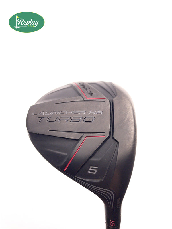 Cleveland Launcher HB Turbo 5 Wood / 18 Degree / ACCRA Tour Z X475 M4 Stiff - Replay Golf