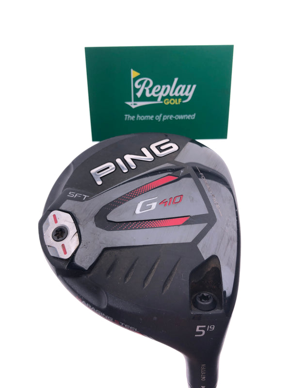 Ping G410 SFT 5 Fairway Wood / 19 Degrees / Ping Alta CB 65 Soft Regular Flex - Replay Golf