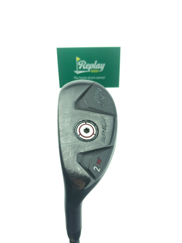 Callaway Apex 2 Hybrid / 18 Degrees / Kuro Kage 80 HY Stiff Flex / LEFT HANDED - Replay Golf