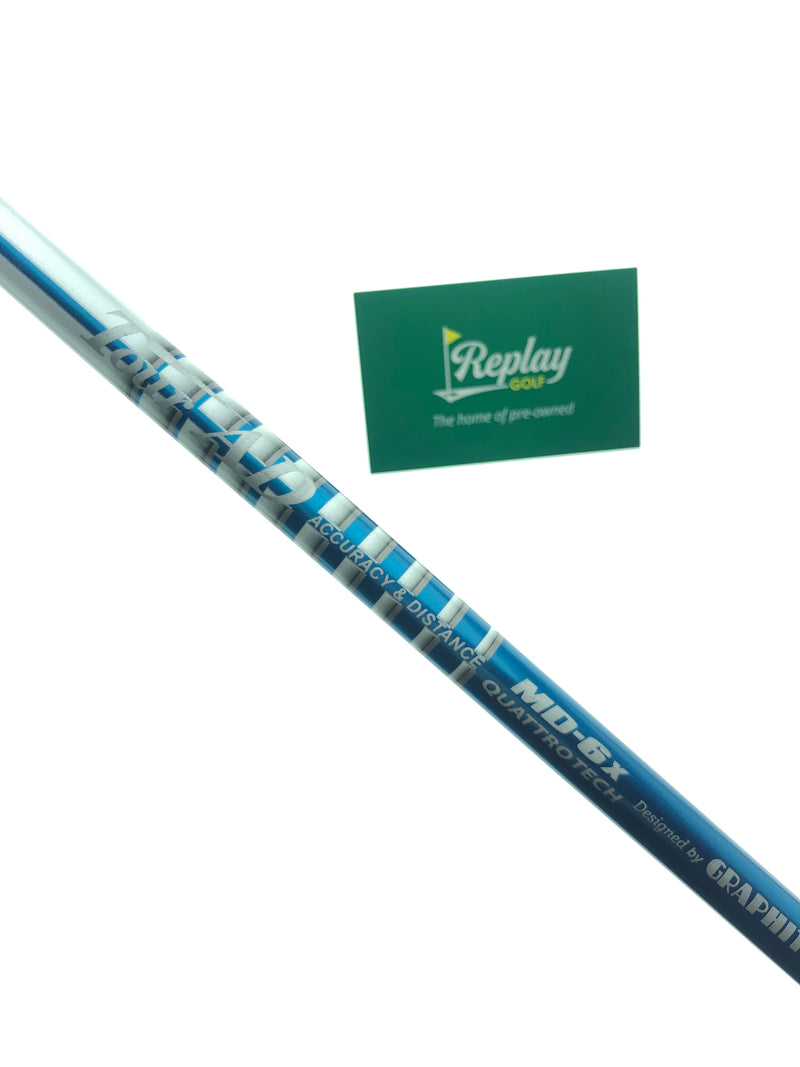 Graphite Design Tour AD MD-6X Driver Shaft / X-Flex / TaylorMade Adapter - Replay Golf