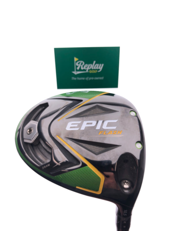 Callaway EPIC Flash Driver / 10.5 Degrees / Tensei Blue AV Series Stiff Flex - Replay Golf