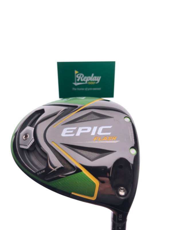 Callaway EPIC Flash Driver / 10.5 Degrees / Project X Even Flow 5.5 Regular Flex - Replay Golf