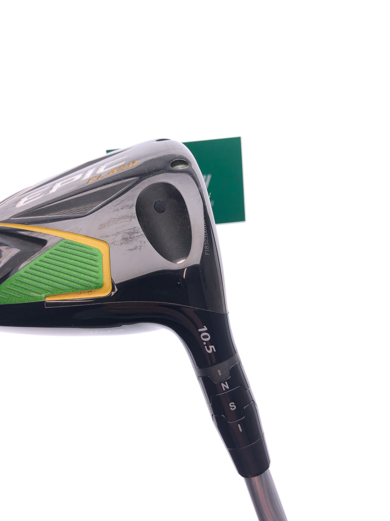 Callaway EPIC Flash Driver / 10.5 Degrees / Project X Even Flow 5.0 Senior Flex - Replay Golf
