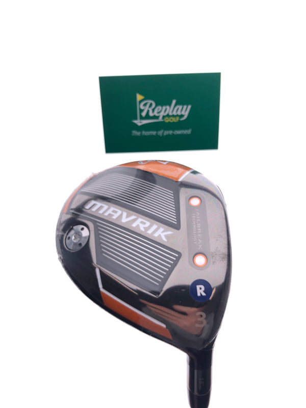 NEW Callaway Mavrik 3 Wood / 15 Degrees / Project X EvenFlow Riptide Regular Flex - Replay Golf