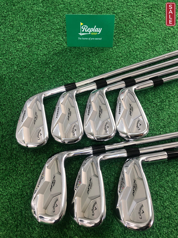 Callaway Apex Pro 19 Irons / 4-PW / Dynamic Gold Tour Issue X100 - Replay Golf