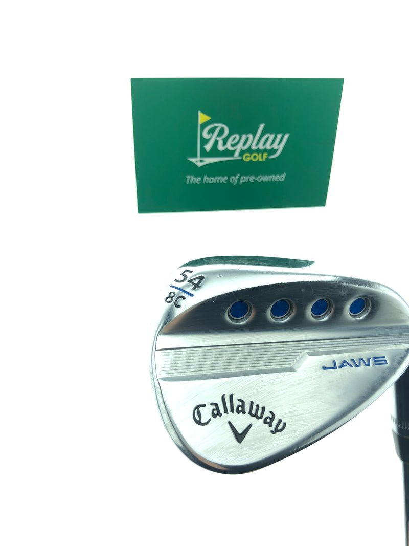 Callaway Jaws MD5 Sand Wedge / 54 Degree / Dynamic Gold 115 Tour Issue S200 Stiff Flex - Replay Golf