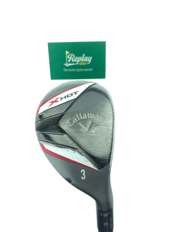Callaway X Hot 3 Hybrid / 19 Degrees / Graphite Regular Flex - Replay Golf