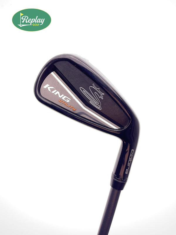 Cobra KING Black Utility 4 Hybrid / 21 Degrees / Recoil ES 780 Stiff Flex