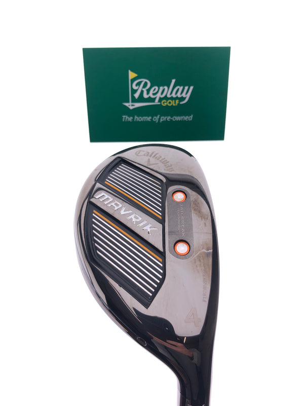 Callaway Mavrik 4 Hybrid / 20 Degree / Project X Catalyst 65 Regular Flex - Replay Golf