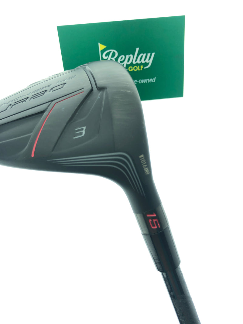 Cleveland Launcher HB Turbo 3 Fairway Wood / 15 Degrees / Miyazaki Regular Flex - Replay Golf