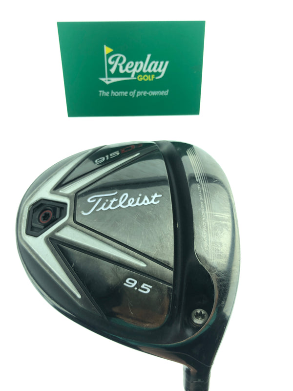 Titleist 915 D3 Driver / 9.5 Degrees / Diamana 60 TX Flex - Replay Golf