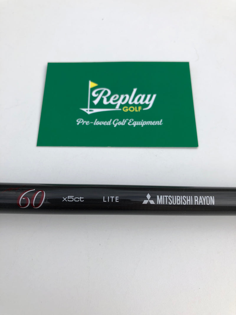 Mitsubishi Rayon Diamana Red M+ Fairway Shaft / Lite Flex / Titleist Adapter-Replay Golf