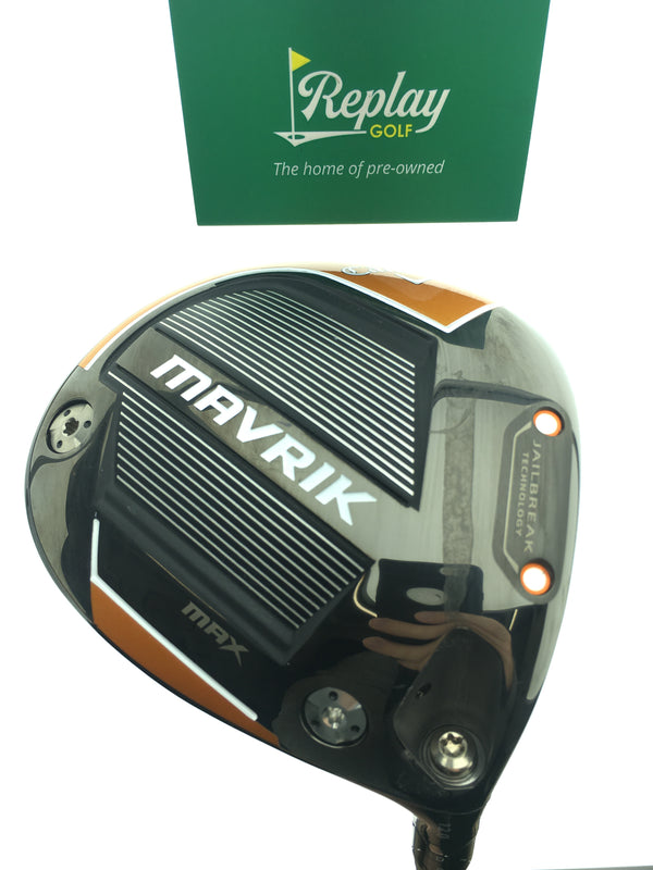 Callaway Mavrik Max Driver / 12.0 Degrees / Project X Evenflow Riptide A Flex - Replay Golf