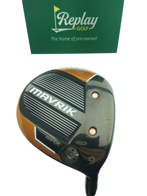 Callaway Mavrik Max 9 Fairway Wood / 23 Degree / Project X Evenflow Riptide A Flex - Replay Golf