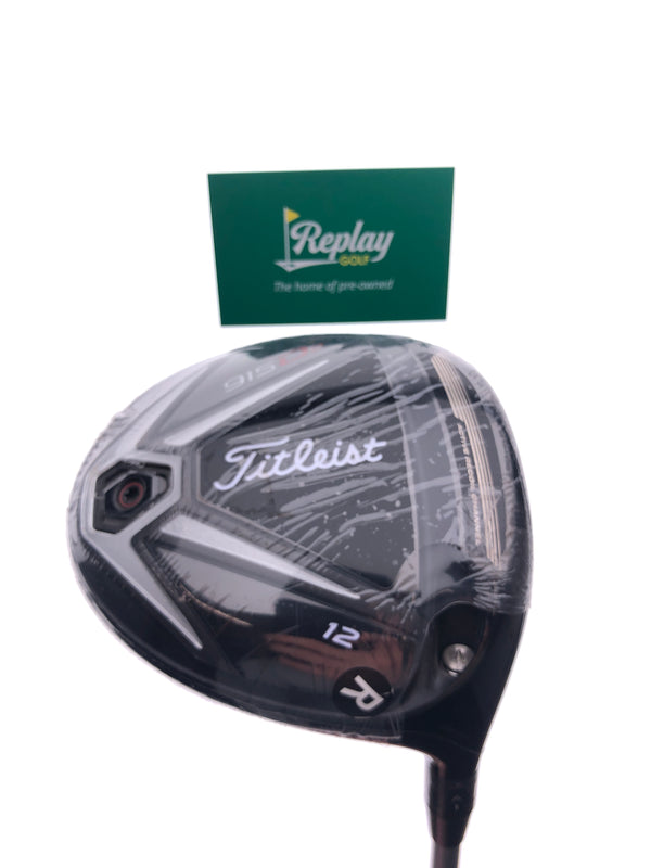 NEW Titleist 915 D2 Driver / 12.0 Degrees / Diamana M+50 Regular Flex - Replay Golf