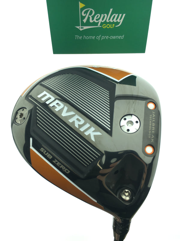 Callaway Mavrik Subzero Driver / 10.5 Degrees / Aldila MSI 130 X-Stiff Flex - Replay Golf