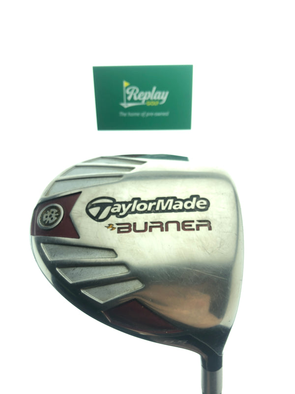 TaylorMade Burner Driver / 9.5 Degrees / REAX 50G Stiff Flex - Replay Golf