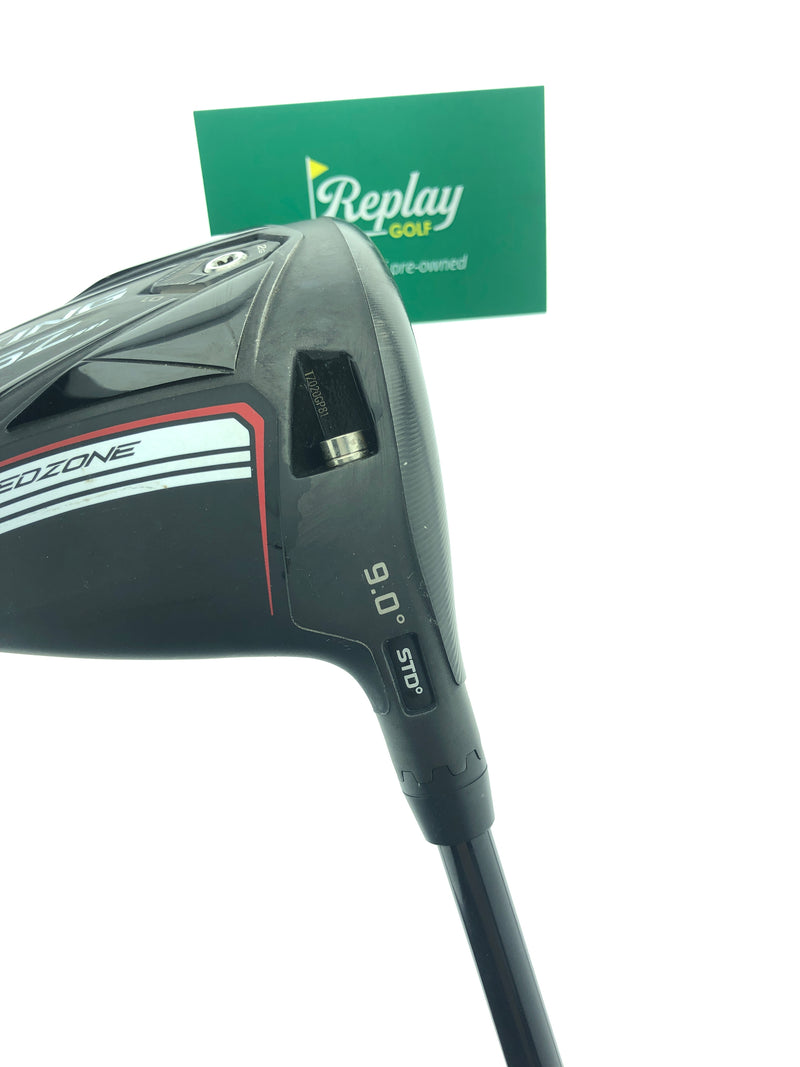 Cobra King SZ Speedzone Driver / 9 Degree / Fujikura Atmos 75 Stiff Flex - Replay Golf