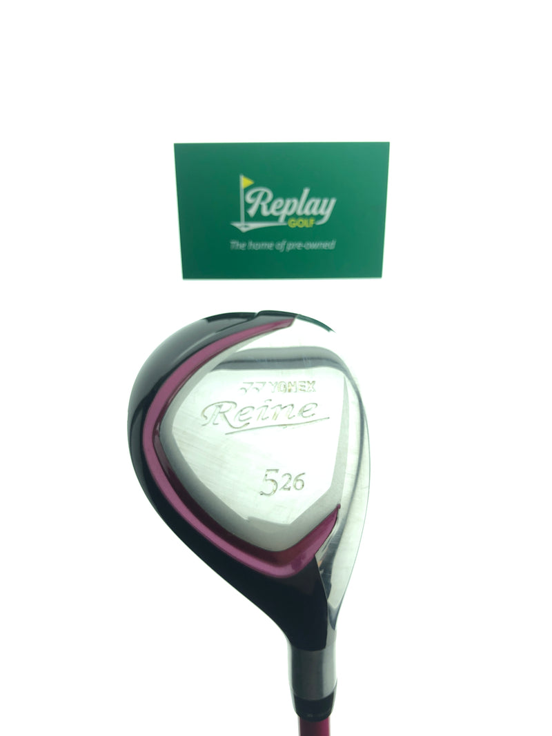 Yonex Reine 5 Hybrid / 26 Degrees / Yonex L50 Ladies Flex - Replay Golf