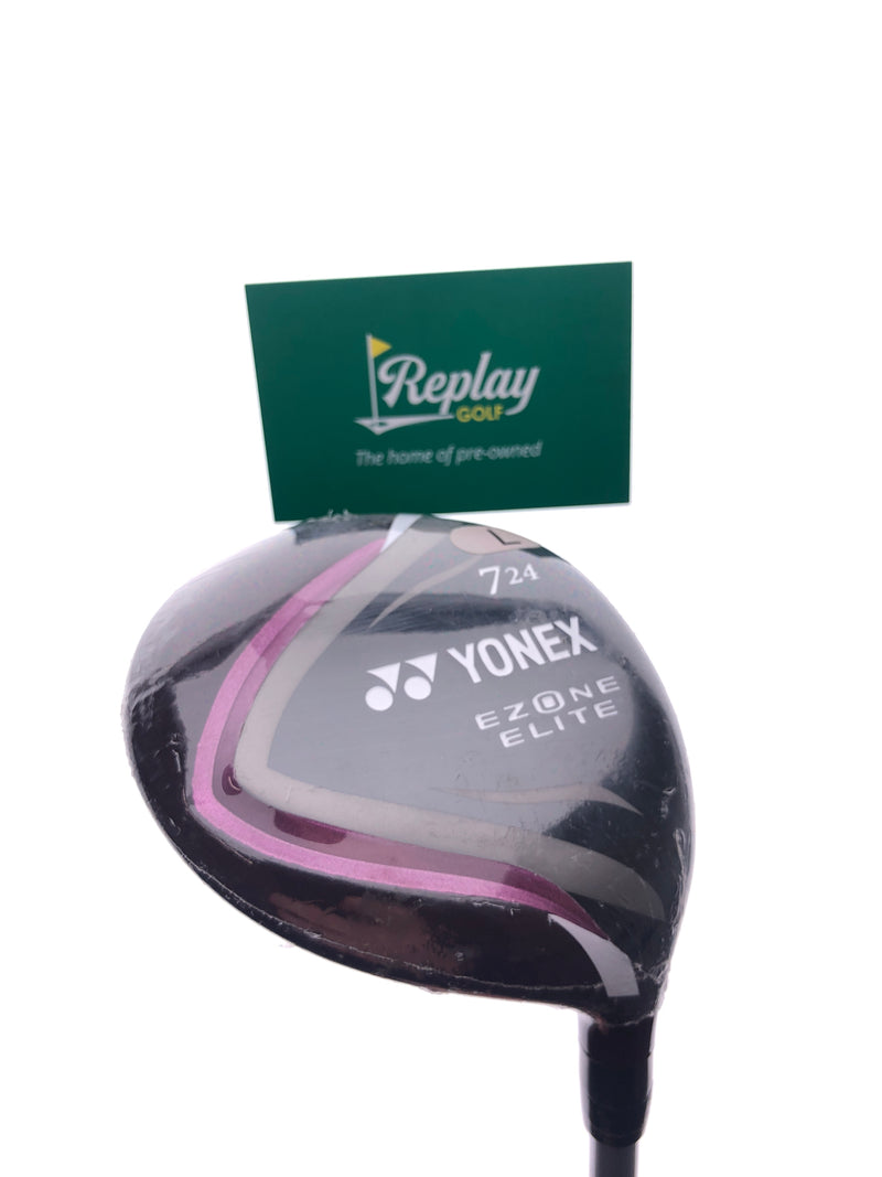 NEW Yonex Ezone Elite 7 Fairway Wood / 24 Degrees / Yonex L50 Ladies Flex - Replay Golf