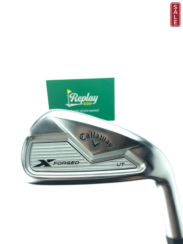 Callaway TOUR ISSUE X Forged UT 4 Utility / 24 Degrees / KBS Tour 130 X-Flex - Replay Golf