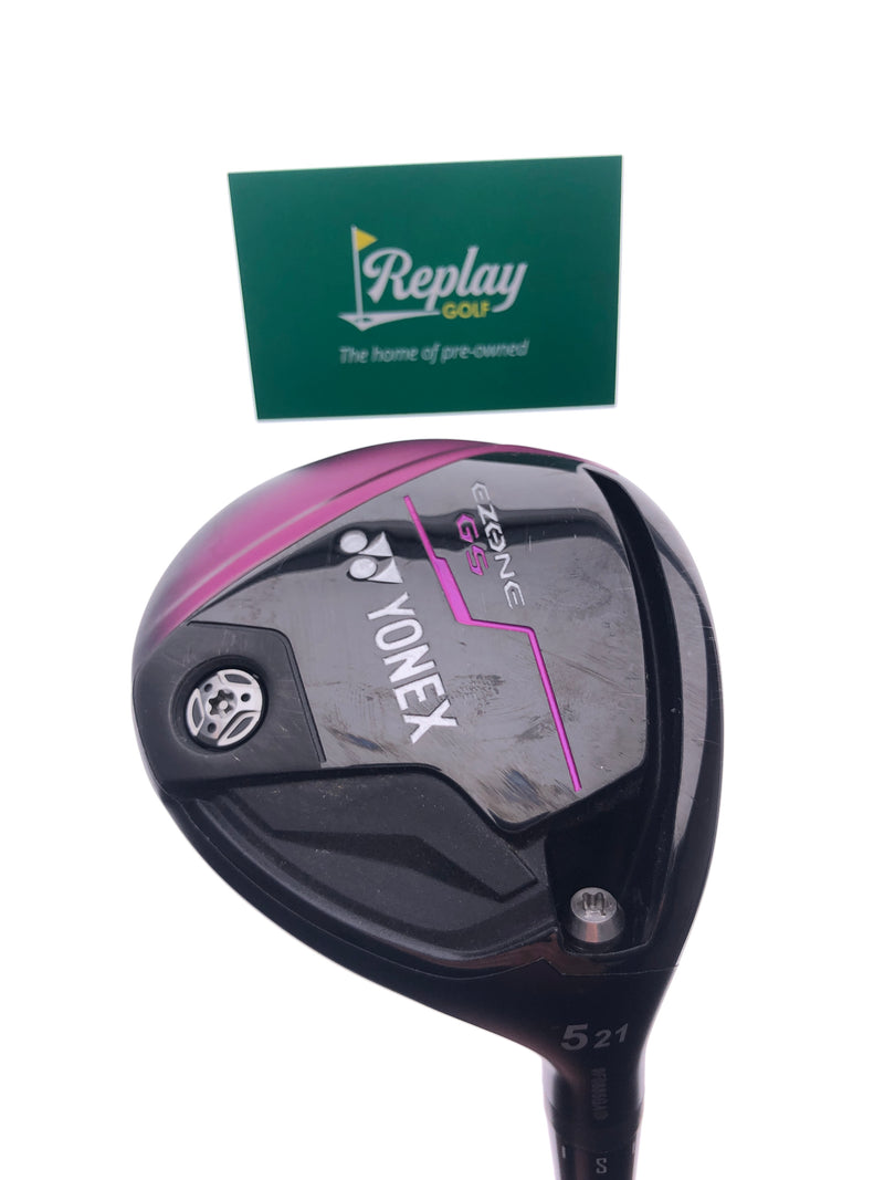 Yonex Ezone GS 5 Fairway Wood / 21 Degree / Yonex EX-330 Ladies Flex - Replay Golf