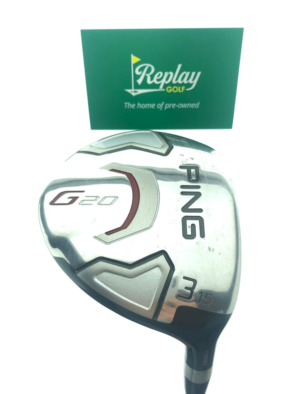 Ping G20 3 Fairway Wood / 15 Degrees / TFC 169 D Tour Regular Flex - Replay Golf