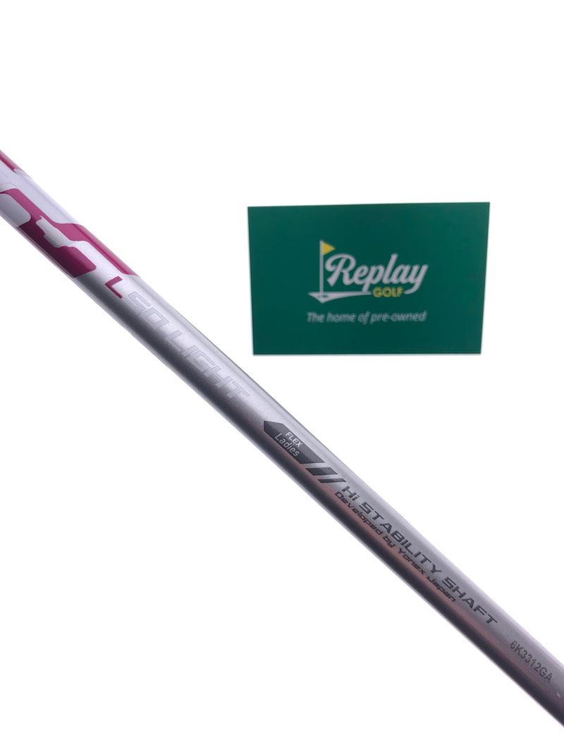 Yonex Ezone Elite 5 Fairway Wood / 21 Degrees / Yonex L50 Ladies Flex - Replay Golf