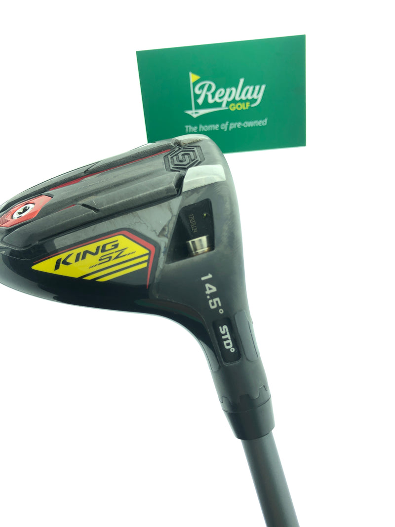 Cobra King Speedzone 3 Wood / 14.5 Degrees / Project X HZRDUS 6.0 Stiff Flex - Replay Golf